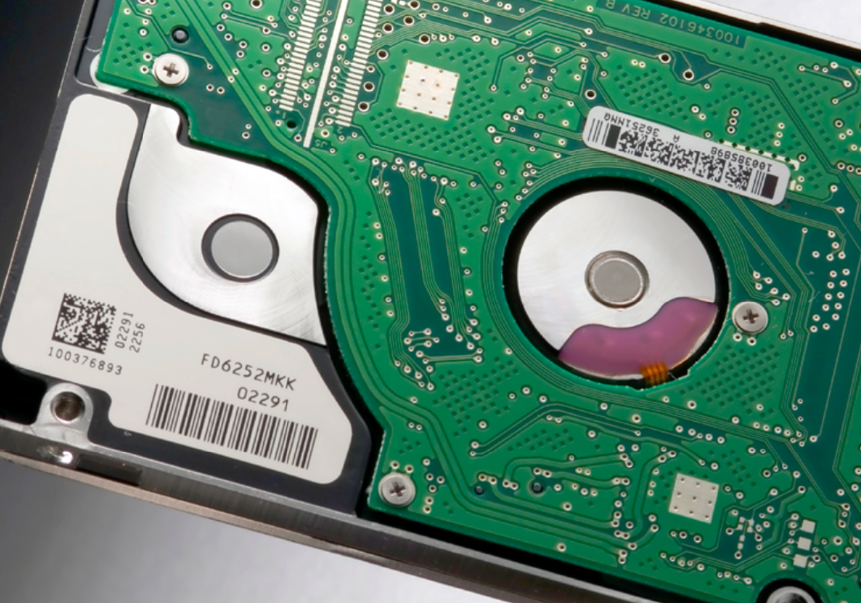 Polyimide Labels For Printed Circuit Boards Hard Drive Board Pcb